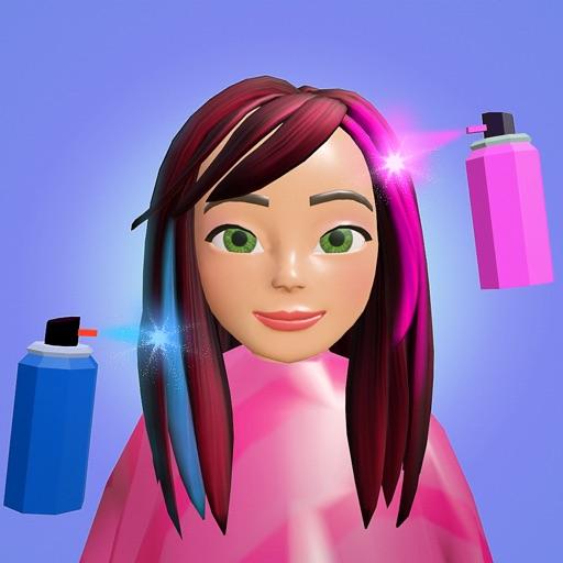 Dye Hair 3D