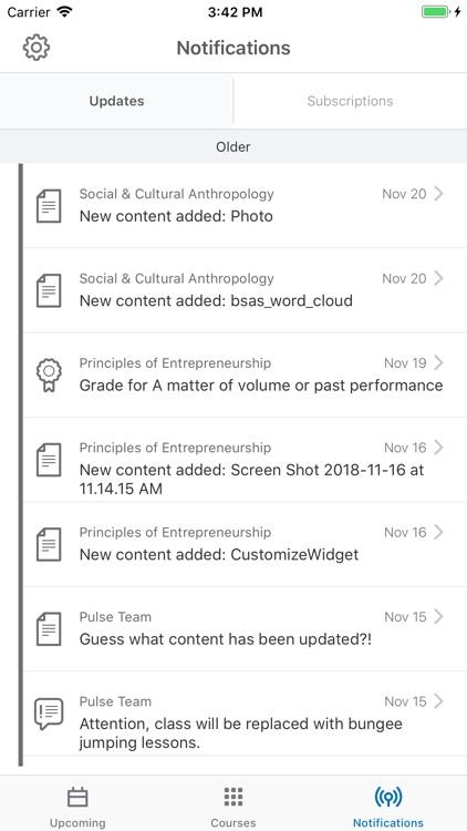 Brightspace Pulse screenshot-5