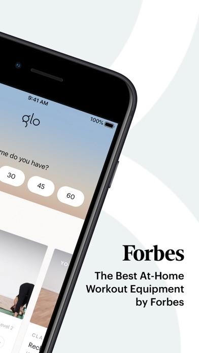 Glo   Yoga and Meditation App Screenshot