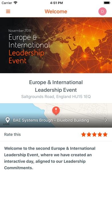 Global Communications Events screenshot four