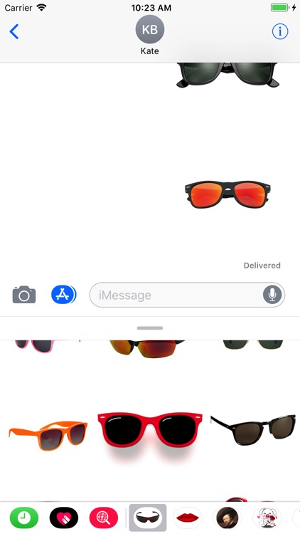 Sunglasses Stickers for iMessa screenshot-4