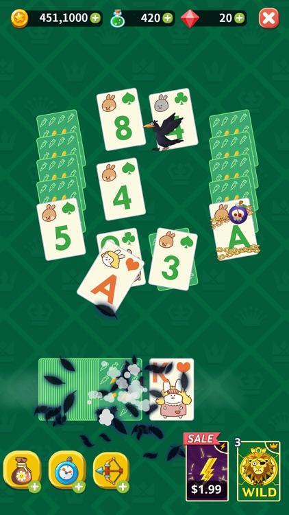 Theme Solitaire: Tripeaks game screenshot-7