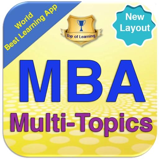 The MBA Encyclopedia 22 topics