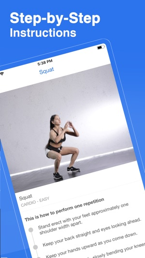 Fit5 - Workout Planner Screenshot