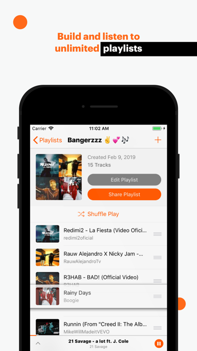 Musi - Simple Music Streaming Screenshot on iOS