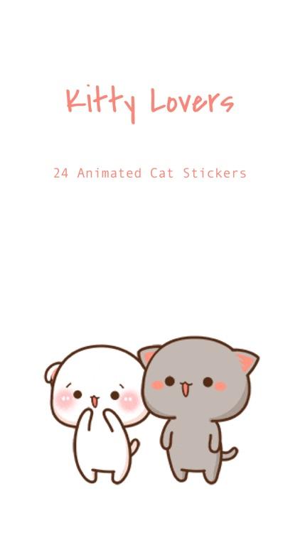 Kitty Lovers - Cat Stickers screenshot-0