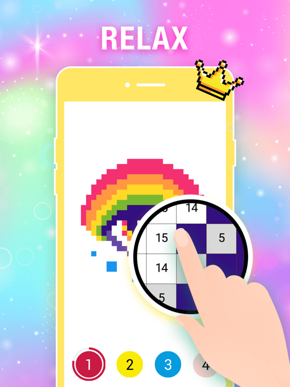 Color by Number Pixel Drawing screenshot 12