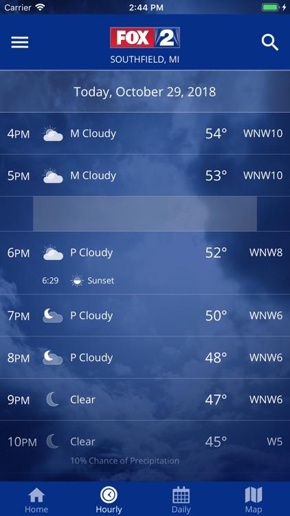 FOX 2 Detroit: Weather screenshot-3
