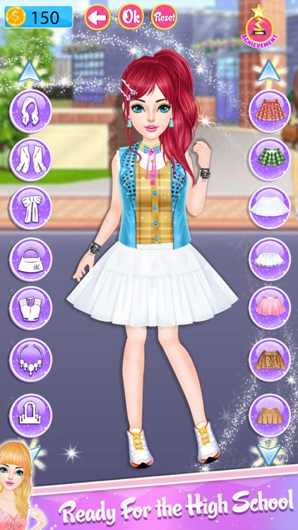 High School Dress Up Stylist