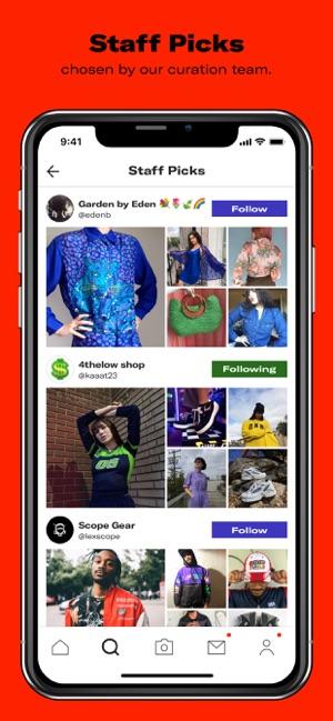 97399968  Depop - Shop. Unique. Fashion on the App Store