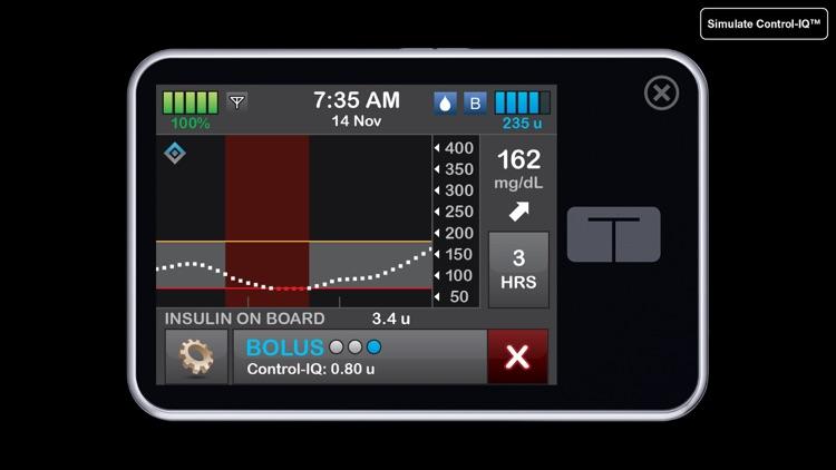 t:simulator™ App