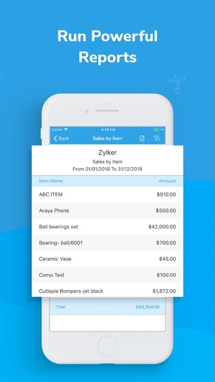 Inventory app - Zoho screenshot-3