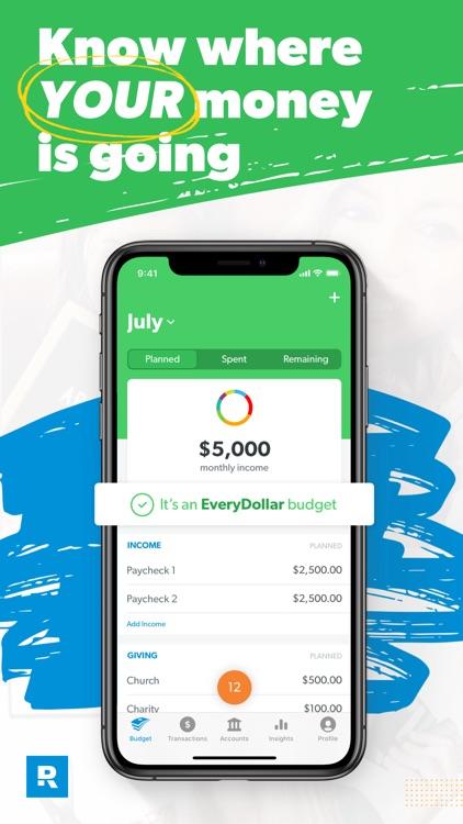 EveryDollar: Budget Your Money screenshot-0