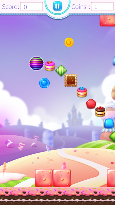 Screenshot for Candy Valley Jump Pro in United States App Store