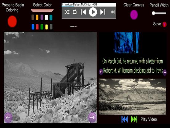 The Alamo- Coloring and Audio screenshot 5