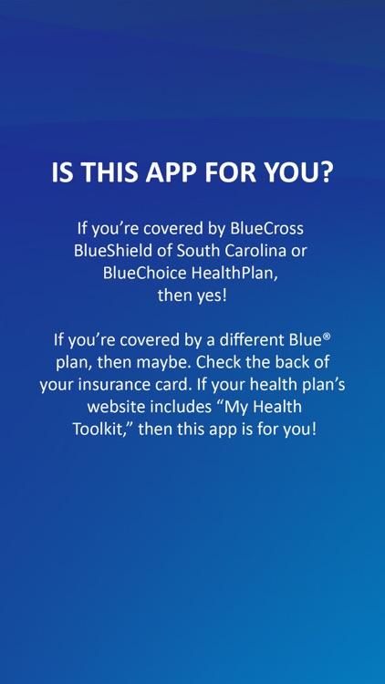 My Health Toolkit® for BCBS screenshot-0