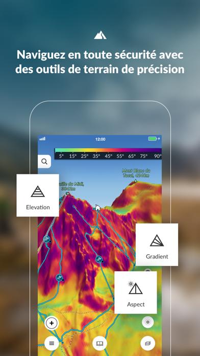 messages.download FATMAP: Randonné, VTT & Ski software