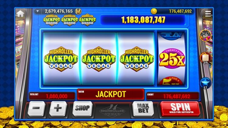 HighRoller Vegas: Casino Slots screenshot-7
