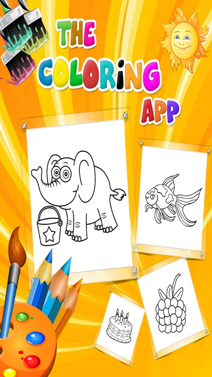 Coloring Book Learn Colors
