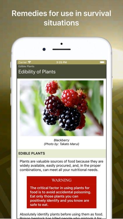 Wild Plant Survival Guide screenshot-4