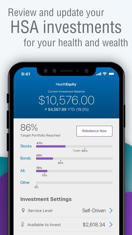 HealthEquity Mobile screenshot-3