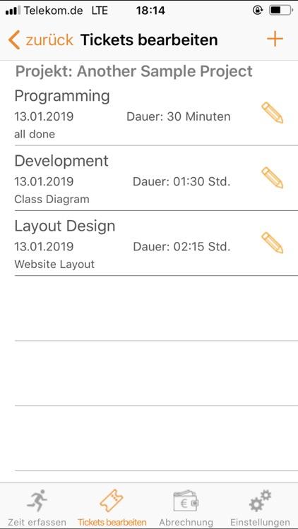 TimeTicket screenshot-4