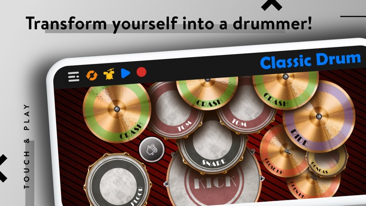 CLASSIC DRUM: Electronic Drums