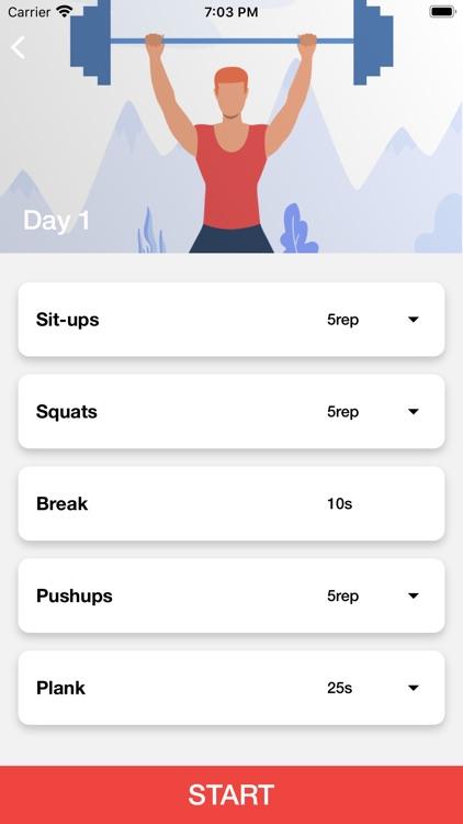 30 days fitness workouts screenshot-4