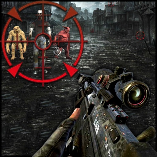 Zombies Attack in City