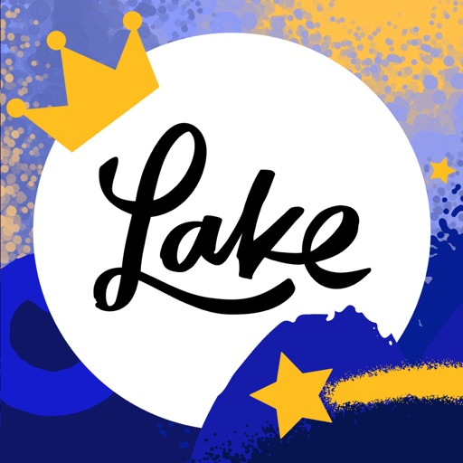 Lake: Coloring Books Icon