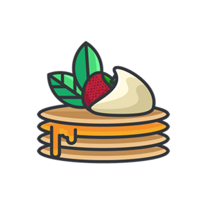 Food and Snacks Stickers - Stickers app