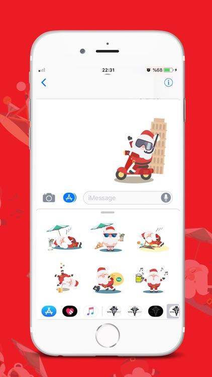 Wise Christmas Sticker screenshot-3