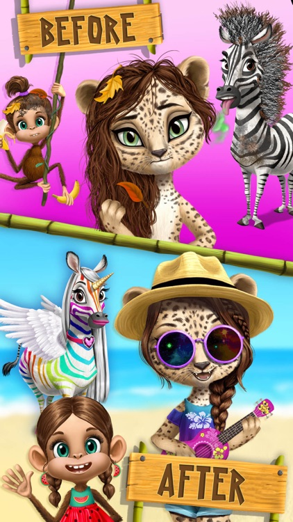 Jungle Animal Hair Salon 2 screenshot-5
