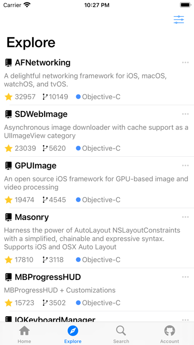 Fango For Github review screenshots