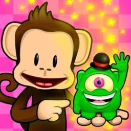 Monkey Preschool Find It