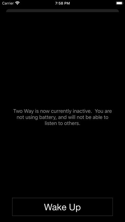 Two Way : Walkie Talkie screenshot-4