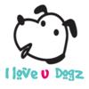 Hei yin Fan - I Love U Dogz artwork