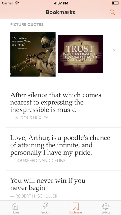 Quotes & Inspiration by Quotlr screenshot-6