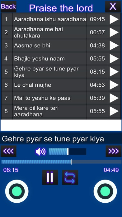 Prayer & Worship Songs screenshot 3