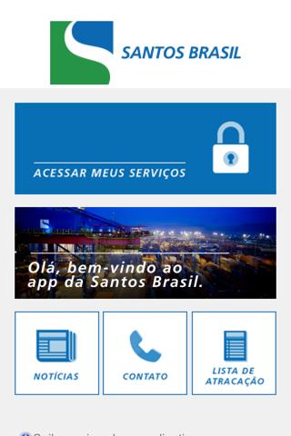Santos Brasil APP - náhled