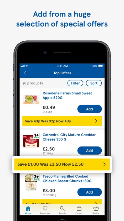 Tesco Groceries screenshot-3