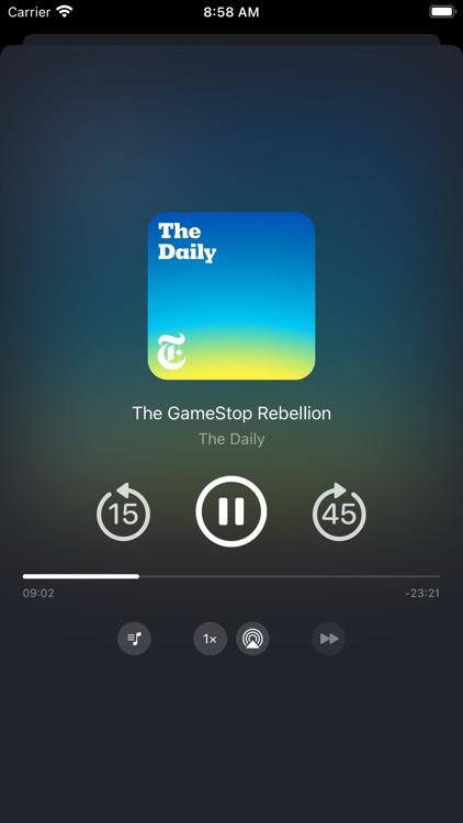 Podger - Podcast Player screenshot-3