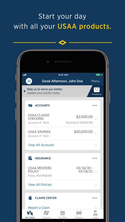 USAA Mobile screenshot-0