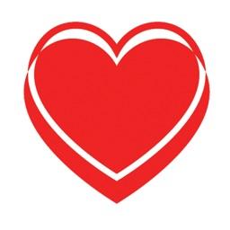 Love Hearts - stickers & emoji