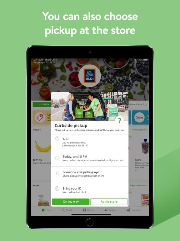 iPad Image of Instacart - grocery deliveries