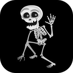 Skeleton Stickers Pack