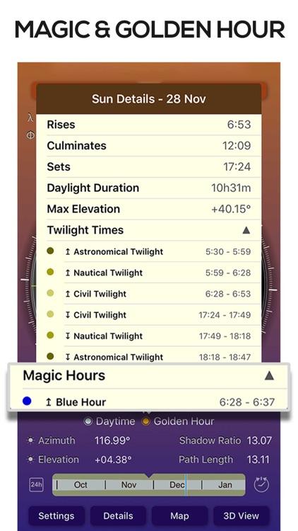 Sun Seeker Sun Tracker Compass screenshot-4