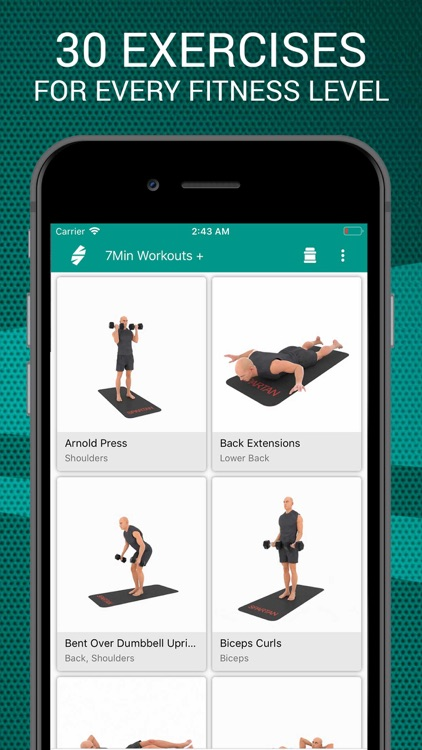 7 Minutes Workouts PRO screenshot-0