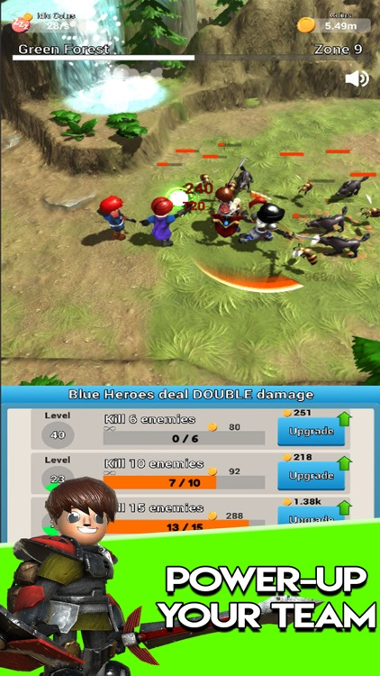 Auto Play Heroes - Idle RPG