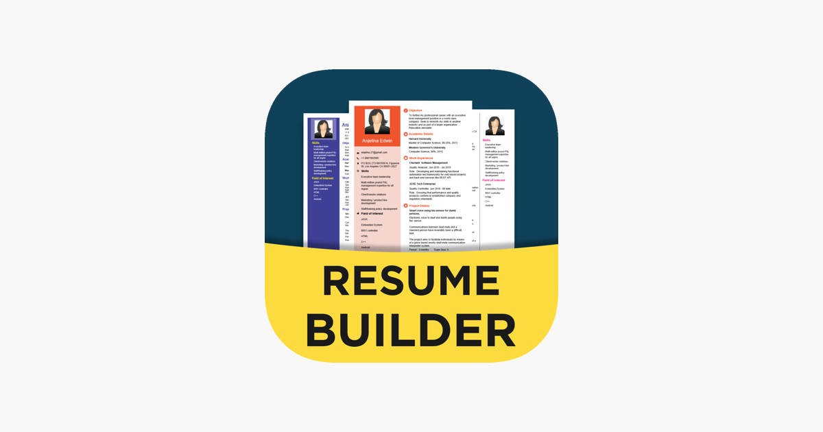 Nithra Resume Builder On The App Store